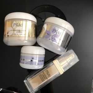 New PRAI skincare Bundle 24k gold antiaging lot